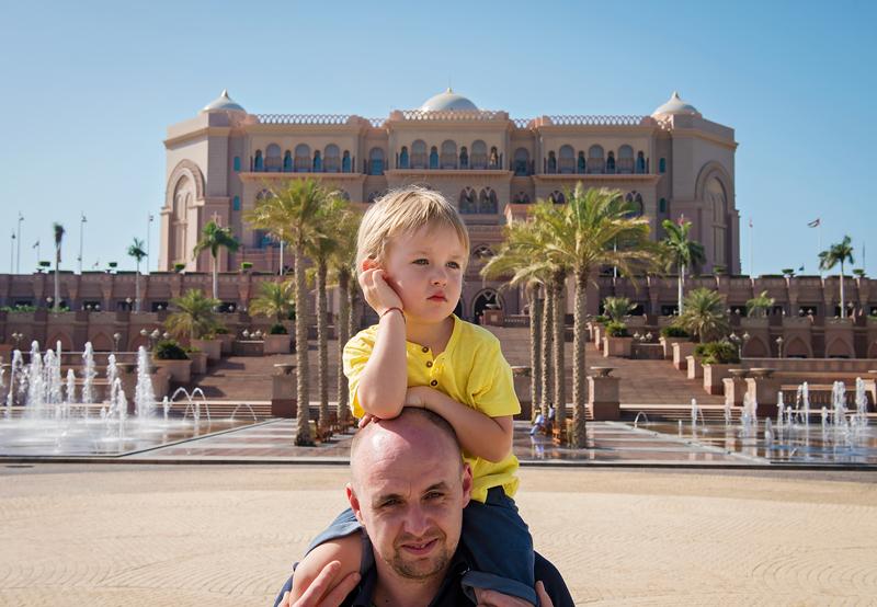 Wycieczka do Abu Dhabi